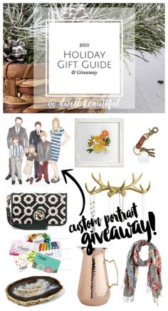 Holiday Gift Guide 2015 AND GIVEAWAY! - Dwell Beautiful