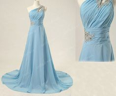 blue prom dress long prom dress affordable prom by sofitdress, $139.00