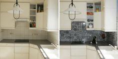 Smart Tiles : Ça Vaut le Coup ? Notre Avis & Test de la Crédence Adhésive Smart Tiles, Credence Adhesive, Diy Décoration, Tile Floor, Kitchen Cabinets, Bathtub, Interior Design, Bathroom, Pose