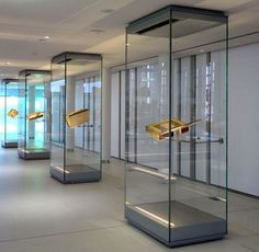 Image result for types and names of display cases for museum\