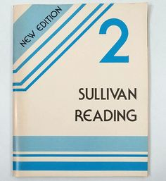 Sullivan Reading Book 2 Vtg 1986 Softcover New Edition Carroll Publishing 1904 #Textbook