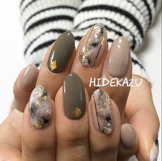 New Ideas For Nails Art Korean Marble Korean Nail Art, Korean Nails, Marble Art, Marble Nails, Mani Pedi, Manicure, Japan Nail, Get Nails, Fall Nails