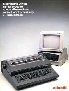 """Foto Gallery """"La Olivetti ET 101 e le macchine per scrivere elettroniche"""" Typewriters, Vintage, Typewriter, Vintage Comics"""