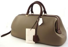 celine small luggage tote price - celine leather doctor bag, sac cabas celine