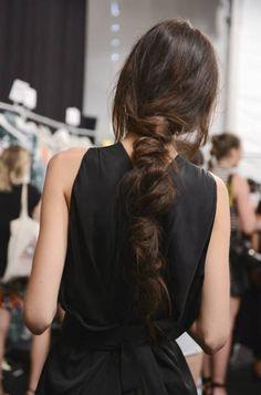 Best Beauty NYFW Spring 2015: The Undone Textured Braid