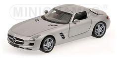 2010 Mercedes-Benz SLS AMG - Grey  by Minichamps (1:18 scale)