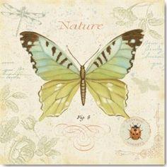 Carte Postale 14x14 cm Daphné Brissonnet côté jardin III