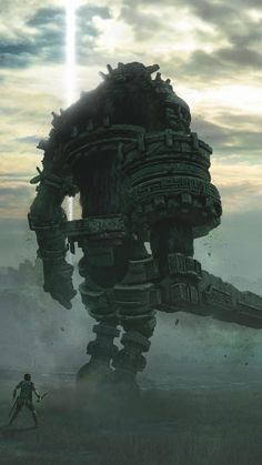 Inspirational Shadow Of the Colossus iPhone Wallpaper