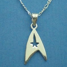 Trek Necklace Sterling Silver Easter Mother's Day & by yhtanaff