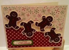 Scentsational Seasons gingerbread men by Jan Reid - Cards and Paper Crafts at Splitcoaststampers