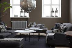 salon-marocain-moderne-salo-gris-suspension-marocaine-métal-ciselé