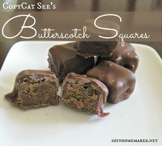 Homemade butterscotch squares - suzyandco.com