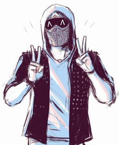 Can somebody summarize the story of watch dogs and watch dogs 2 to a guy (me) who hasn't played it? Wrench Watch Dogs 2, Watch Dogs 1, Watchdogs 2 Wrench, Character Art, Character Design, Hacker Wallpaper, What Dogs, Anime Guys, Game Art