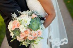 BLOOM | Wedding Flowers | Blush Sage and White Romantic Tones
