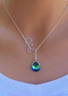 Natural Gemstone Mother/'s Day Bijoux Ocean Blue Agate Druzy ARGENT PENDENTIFS