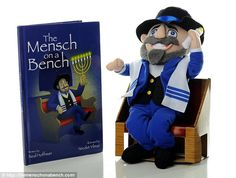 Neal Hoffman created Mensch on a Bench last year after his son asked for Elf on the Shelf, the doll that watches kids' behavior so Santa knows whether they deserve Christmas presents. Description from capitalbay.com. I searched for this on bing.com/images