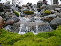 Imagine a waterfall in your yard!