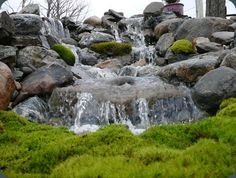 Imagine a waterfall in your yard!