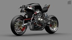 William Woods - FALLOUT Concept Bike - Custom Fighters - Custom Streetfighter Motorcycle Forum