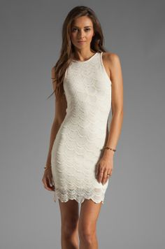 Nightcap Belize Victorian Lace Dress in Ivory from REVOLVEclothing