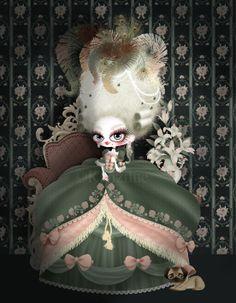 Marie Antoinette by kanzilue