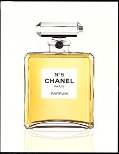 The iconic Chanel No. 5 fragrance