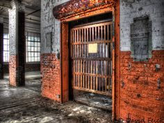 Elevator Gate Harvey Woods   Flickr - Photo Sharing!