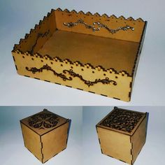 caja mdf Decorative Boxes, Container, Home Decor, Decoration Home, Room Decor, Home Interior Design, Decorative Storage Boxes, Home Decoration, Interior Design