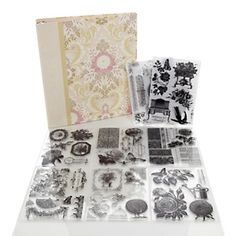 Anna Griffin® 18th Century Garden Stamp Collection at HSN.com.