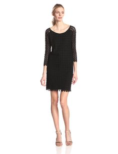 VELVET BY GRAHAM and SPENCER Women's Spring Lace Long Sleeve Dress ** Read more reviews of the product by visiting the link on the image.