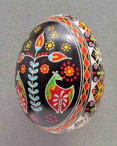 Birds were considered the harbingers of spring, thus they were a commonplace pysanka motif. Birds of all kinds are the messengers of the sun and heaven and are always shown perched or at rest.
