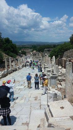Efes - Ephesus, TURKEY. Republic Of Turkey, Kusadasi, Ephesus, 10 Picture, Beautiful Places In The World, Istanbul Turkey, Eastern Europe, Dolores Park, Street View