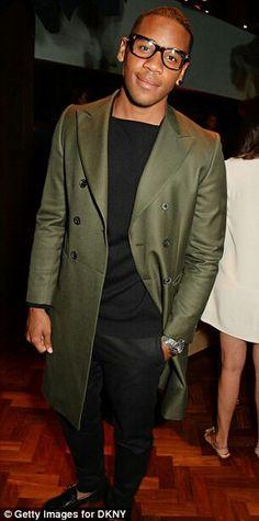 Reggie yates: sweet coat