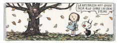 Ricardo Siri Liniers esunartista argentino, autor deestas bellas ilustraciones. Con sus dibujos halogrado conmover amillones depersonas alrededor del mundo. Desde 2001 dibuja esta serie decómics bajo eltítulo deMacanudo. Enella, diversos personajes plantean reflexiones filosóficas, políticas, creativas ycotidianas.