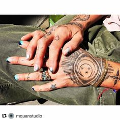 #Repost from @mquanstudio and @bobbyfisherphotography always love seeing my work healed and Michelle and Bobby are inspiring and amazing.  Are those my old hands? Repost @bobbyfisherphotography nails courtesy of @etqf jewelry of @pollywales @wornovertime @gilesandbrother and @mquanstudio pants @mkolski tattoo @thomas__hooper #IAMFUCKINGBILLBOARD for people on a spring day