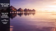 Take it easy in Tahiti. - https://traveloni.com/vacation-deals/take-easy-tahiti/ #southpacific #tahitivacation