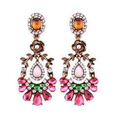 Look what I found on Aliexpress Statement Earrings, Women's Earrings, Wholesale Jewelry, Wedding Jewelry, Dangles, Jewelry Accessories, Charmed, Romantic, Stuff To Buy