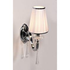 Kinkiet kryształowy  FEDERRICA W1 - Lumina Deco