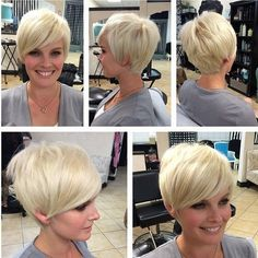 Easy Short Haircut for Fine Hair - Best New Short Hairstyles for Long Faces