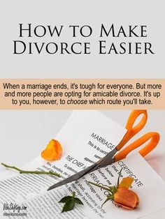 How to Make Divorce Easier - Vibe Shifting When a marriage ends, it's tough on everyone. More and more people are opting for amicable divorce, but it's up to you to CHOOSE which route you'll take. End Of Marriage, Broken Marriage, Saving A Marriage, Happy Marriage, Marriage Advice, Happy Relationships, Mom Advice, Divorce Online, Dealing With Divorce