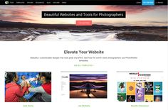 PhotoShelter makes websites and business tools for serious photographers.