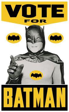 Vote for Batman.