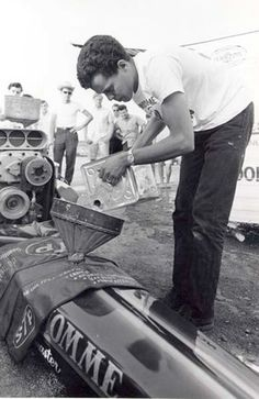 "The Snake ""Don Prudhomme"" Vintage Drag Racing Photo!"