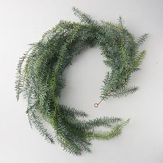 Check out Faux Wispy Greens Garland from Terrain Christmas Wreaths, Christmas Decorations, Holiday Decor, Floral Fascinators, Green Garland, Iron Wire, Outdoor Garden Furniture, Indoor Planters, Flower Decorations
