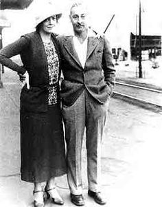 Ethel Barrymore and her brother John Barrymore.