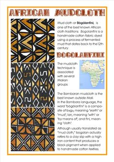 African Mudcloths Bogolanfini