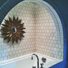 Arched Bathtub Alcove, Contemporary, bathroom, Pulp Design Studios