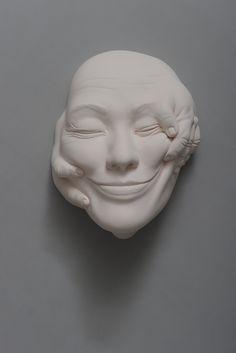 Exklusive Porzellanskulpturen von Johnson Tsang