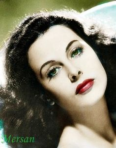"""Hedy Lamarr - quotes:     """"A good painting to me has always been like a friend. It keeps me company, comforts and inspires."""""""