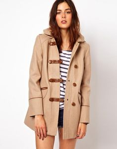 Toggles are in again and I love them! Love this two-toned coat for every day wear!